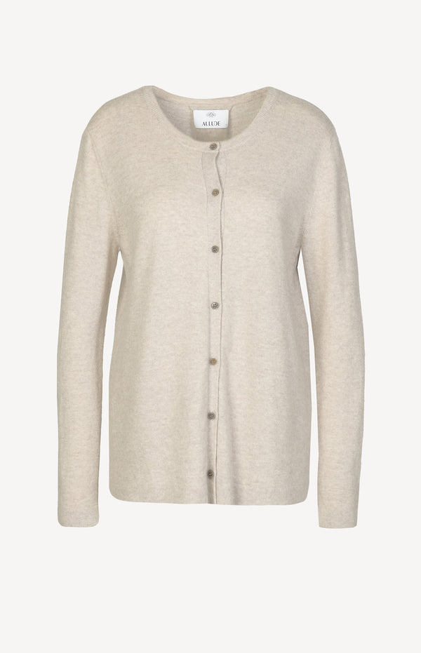 Oversized Kaschmircardigan in Beige