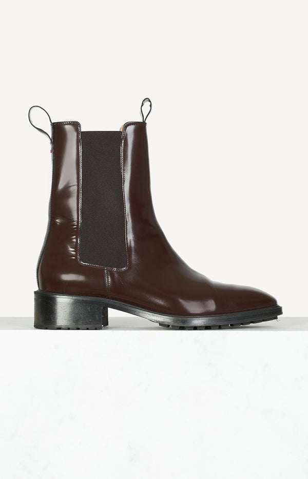 Boots Simone in Chocolate Brown
