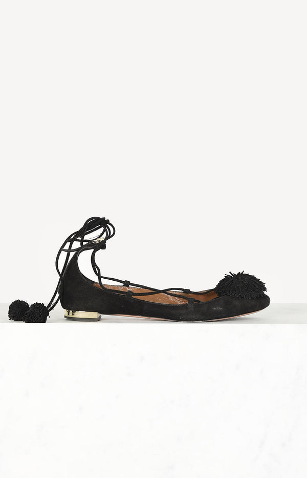 Sunshine Flat shoes in black