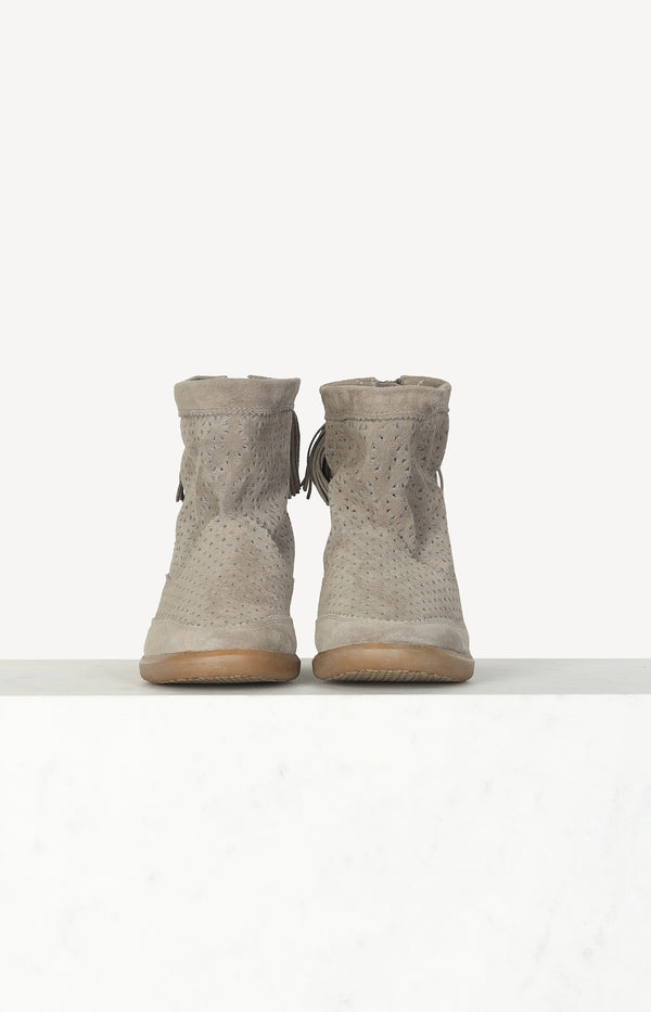 Wedge Boots Basley in Taupe