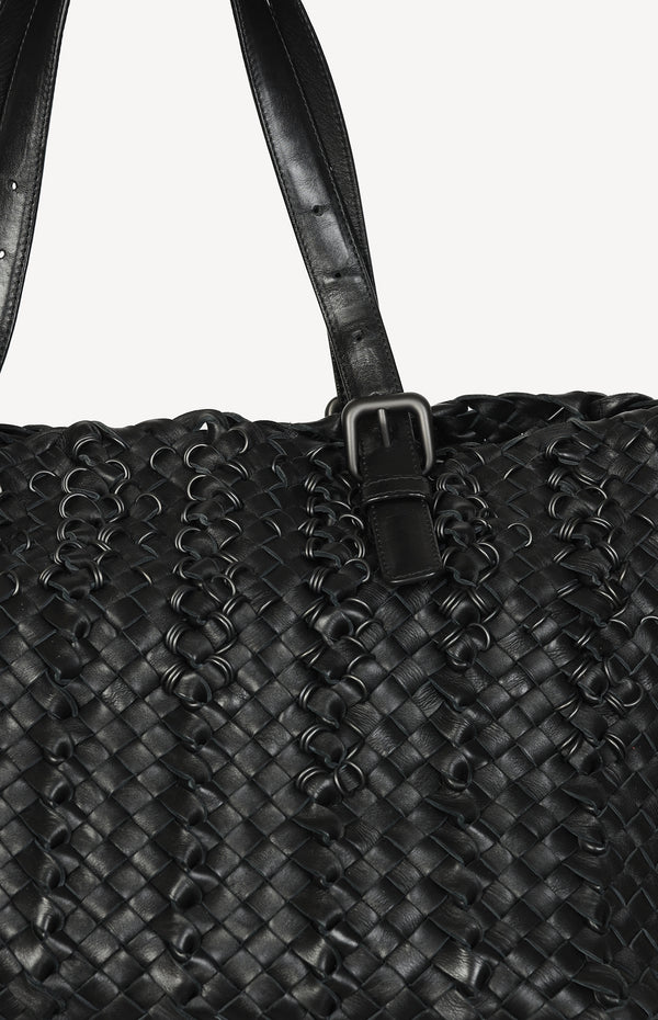 Cabat Intrecciato bag in black