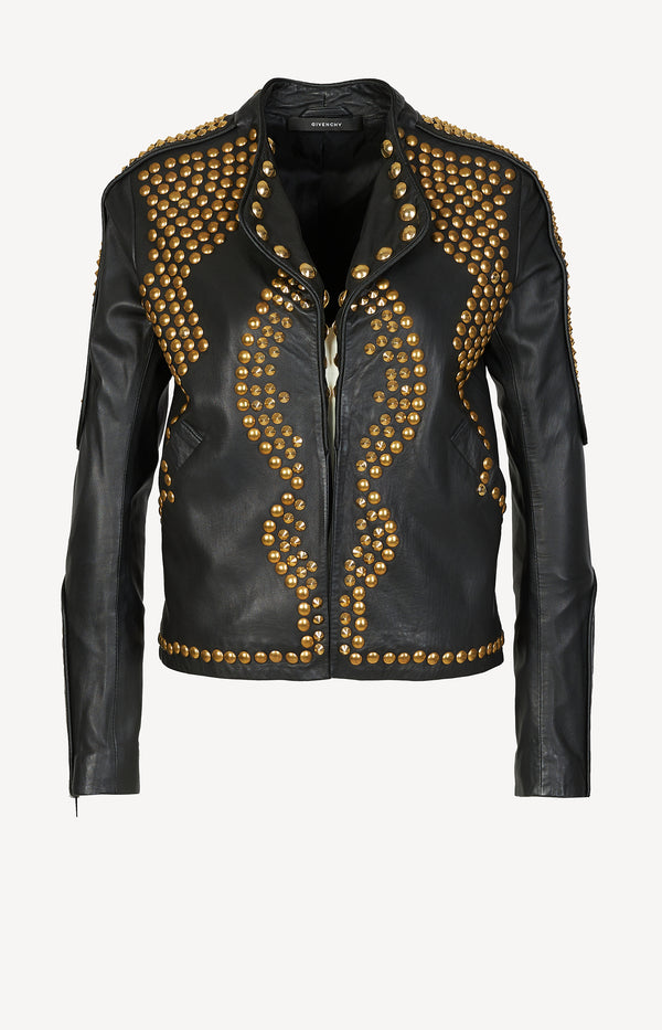Redux leather jacket in black