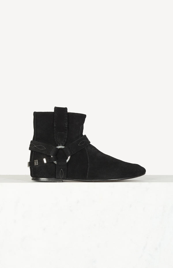 Ralf boots in Summer Velvet Black