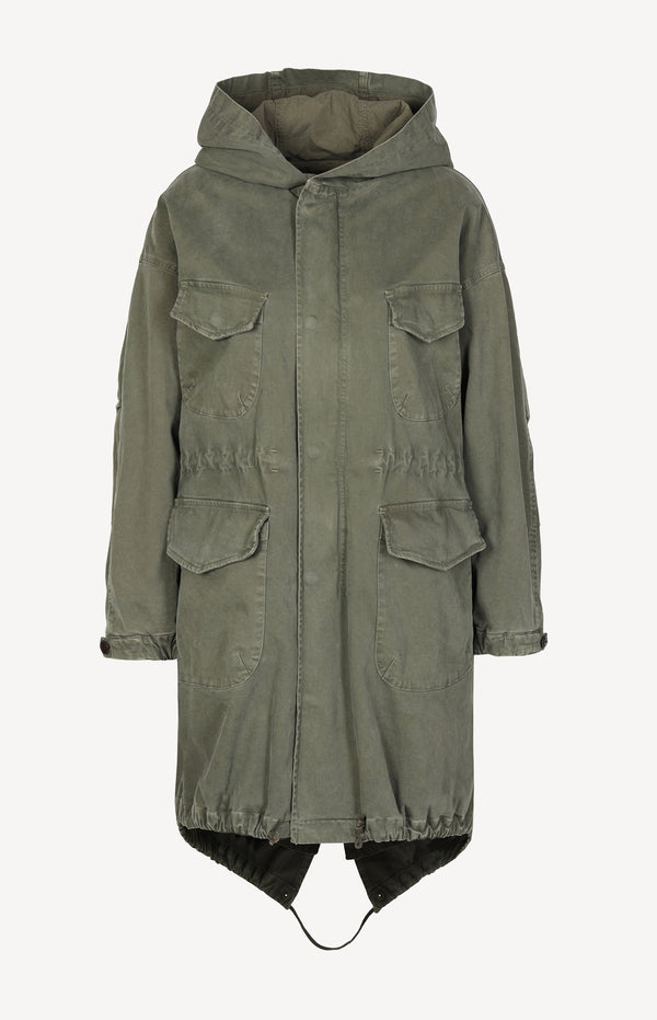 Parka North Anorak in khaki