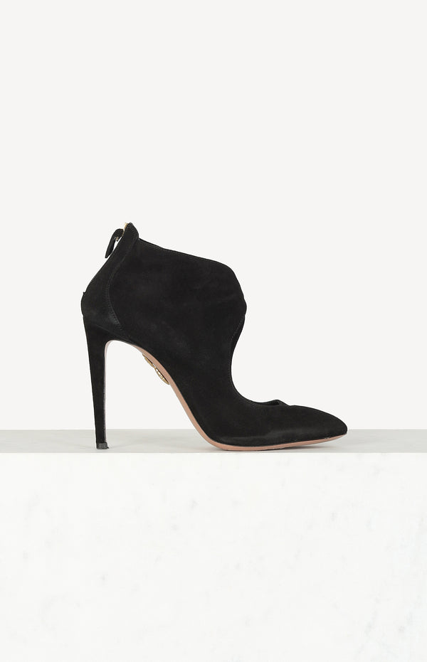 Ella 105 pumps in suede / black