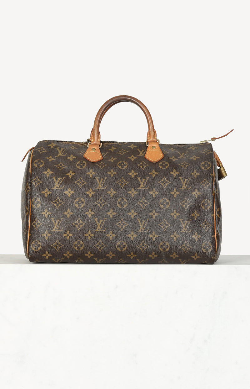 Tasche Speedy 35 in Monogram Braun