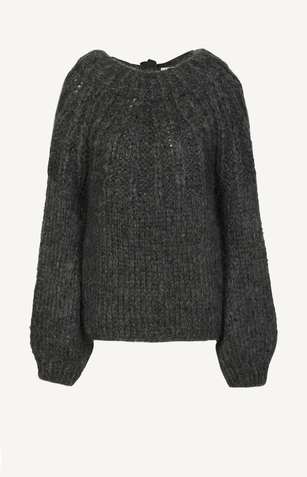 Pullover The Julliard Mohair in Anthrazit