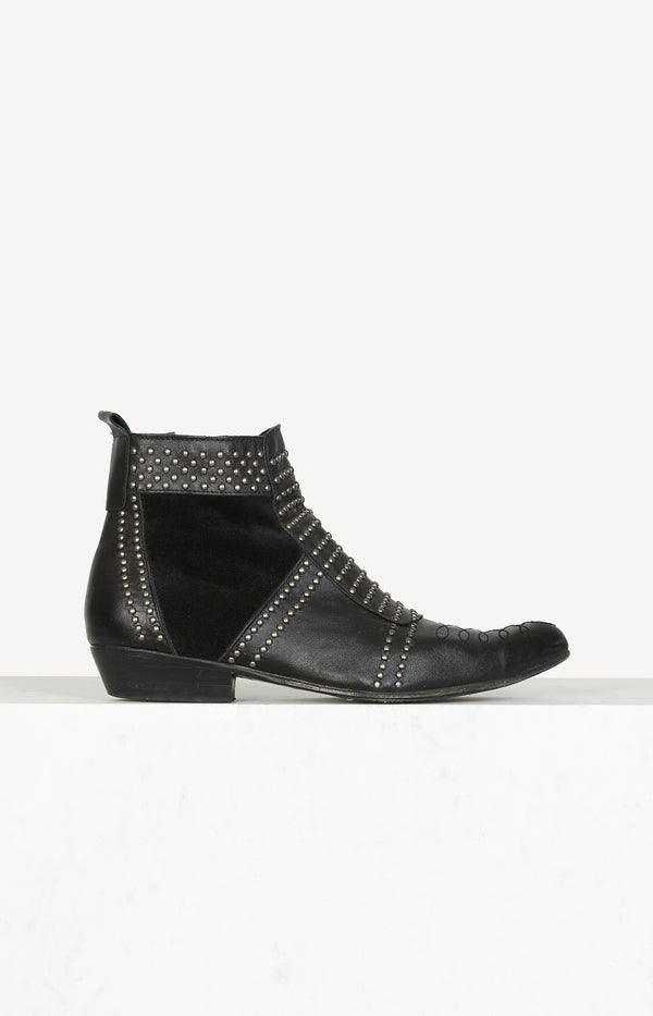 Charlie ankle boots in black