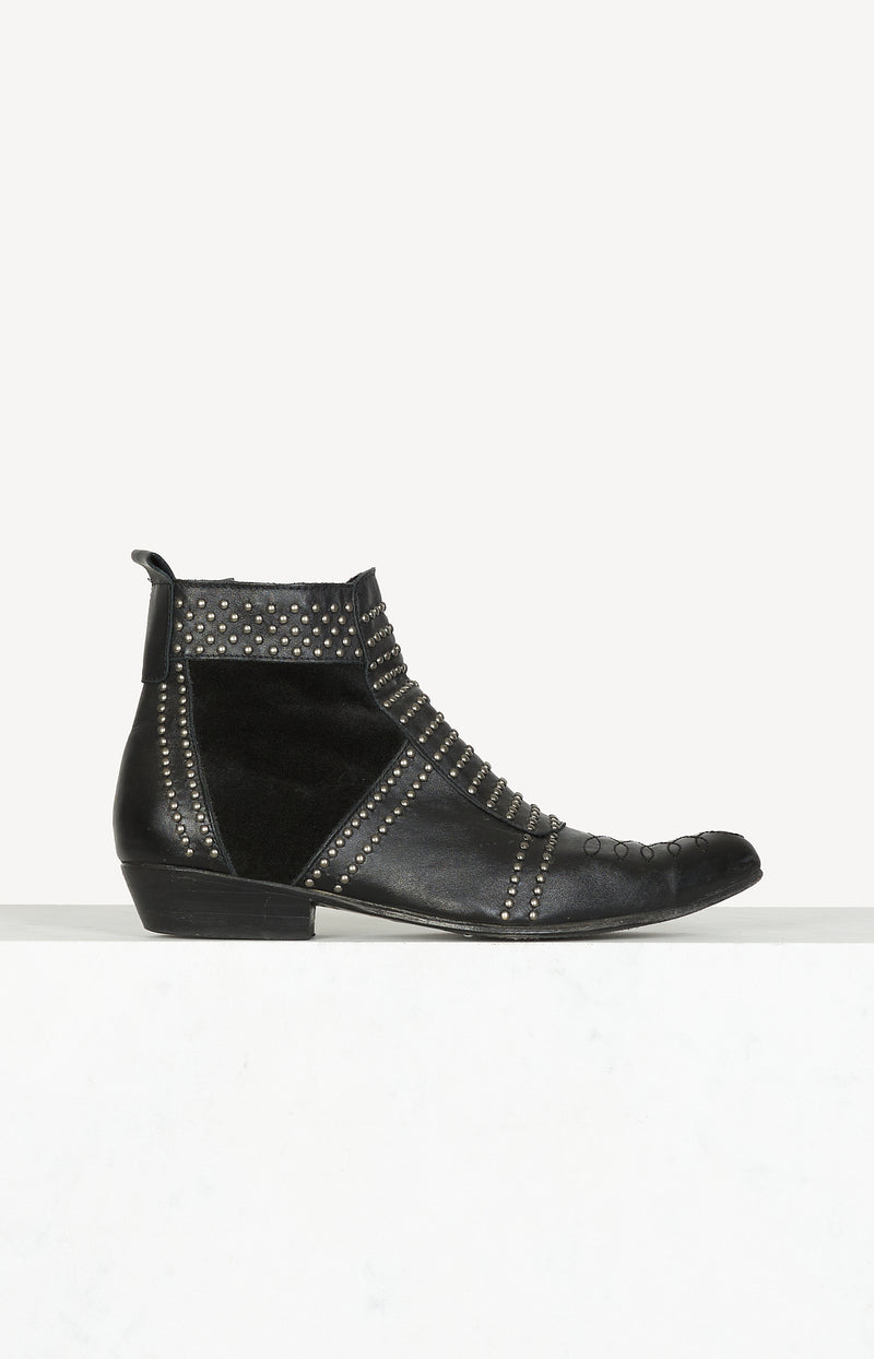 Ankle Boots Charlie in Schwarz