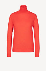 Pullover in Orange Red