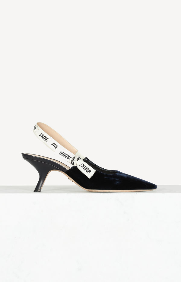 J'Adior slingback pumps in Navy