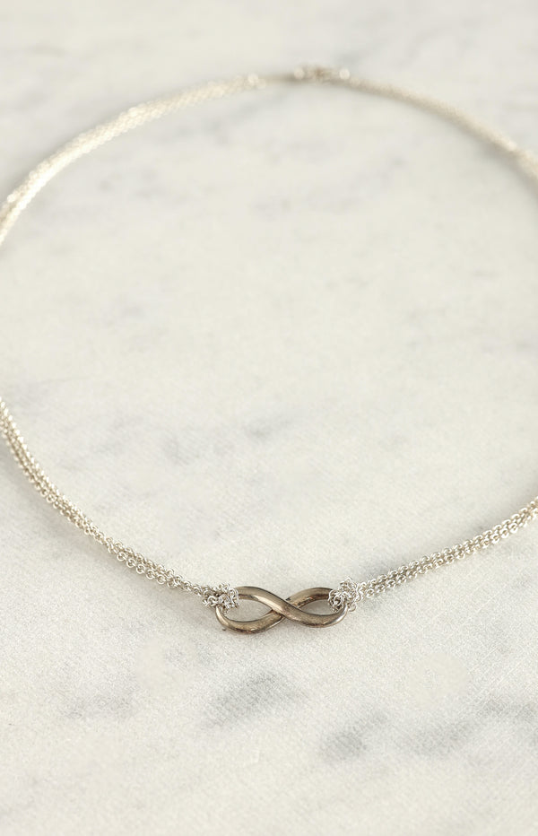 Kette Infinity in Silber