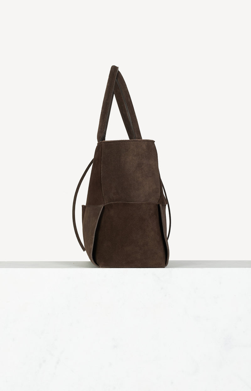Shopper Arco Tote Bag in Fondente Braun