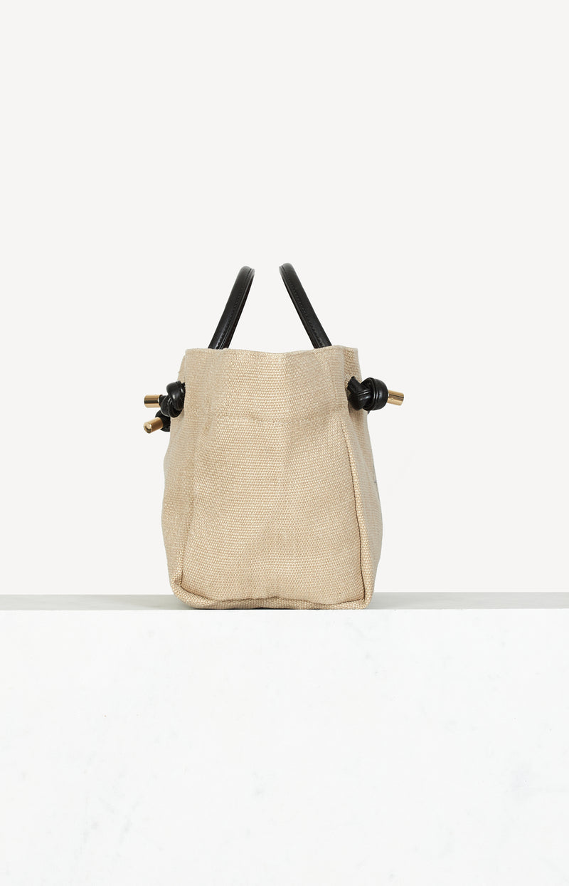 Leinenshopper Saffron Mini in Beige