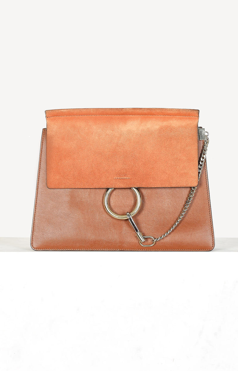 Tasche Faye Medium in Tobacco