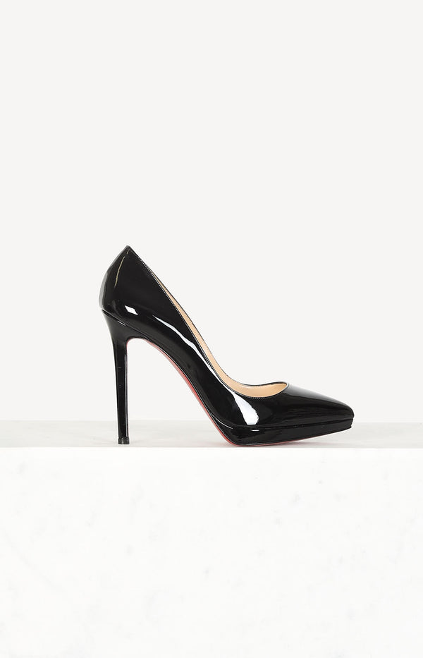 Pigalle Plato Patent pumps in black