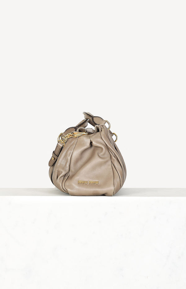Tasche Bosco in Taupe