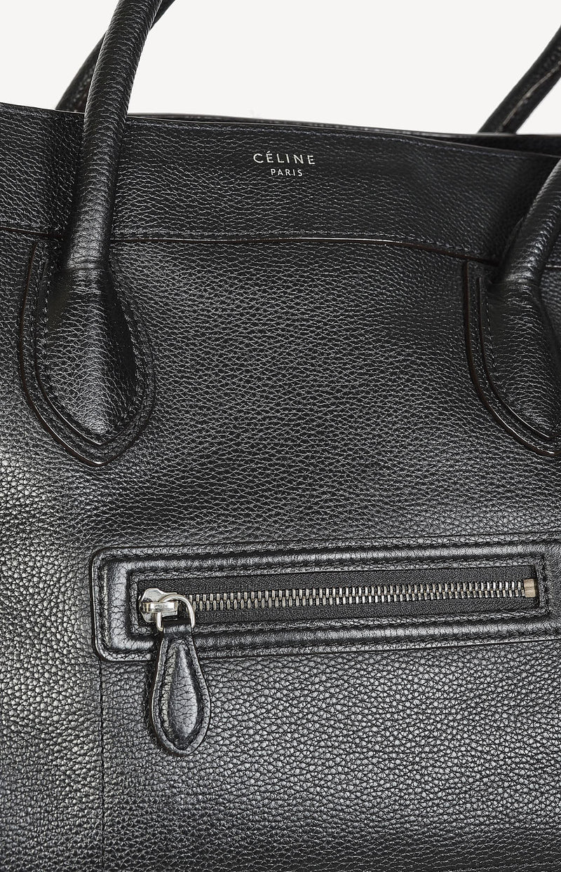 Tasche Luggage Medium in Schwarz
