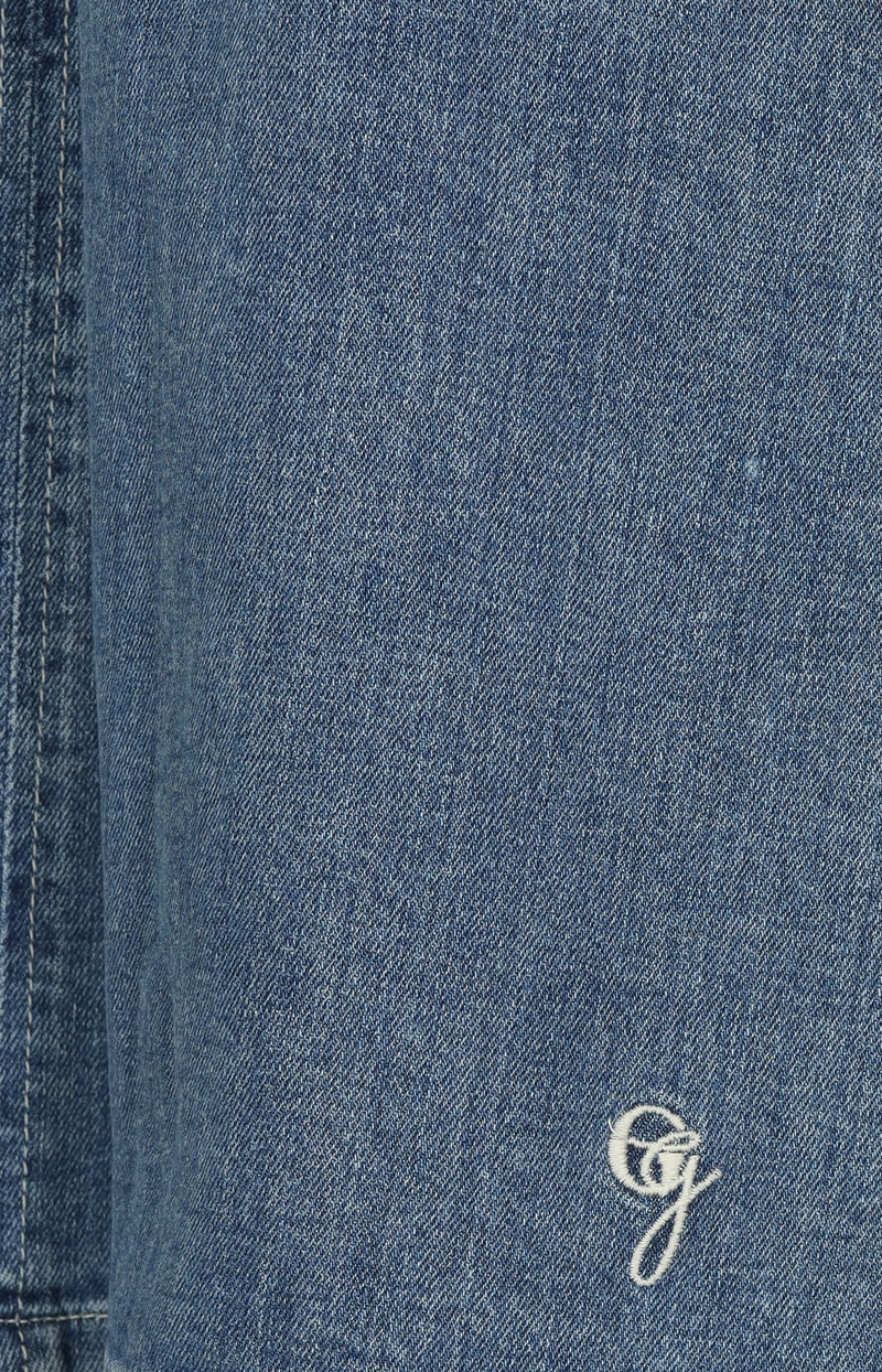 Denim-Kleid in Blau