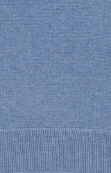 Kaschmirpullover in Denim Blue