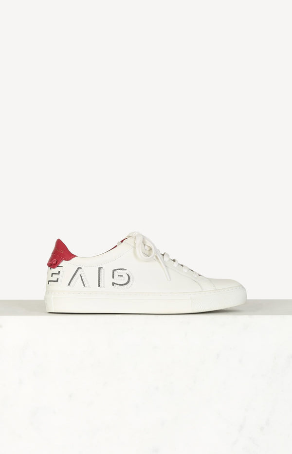 Urban Street sneakers in white / red