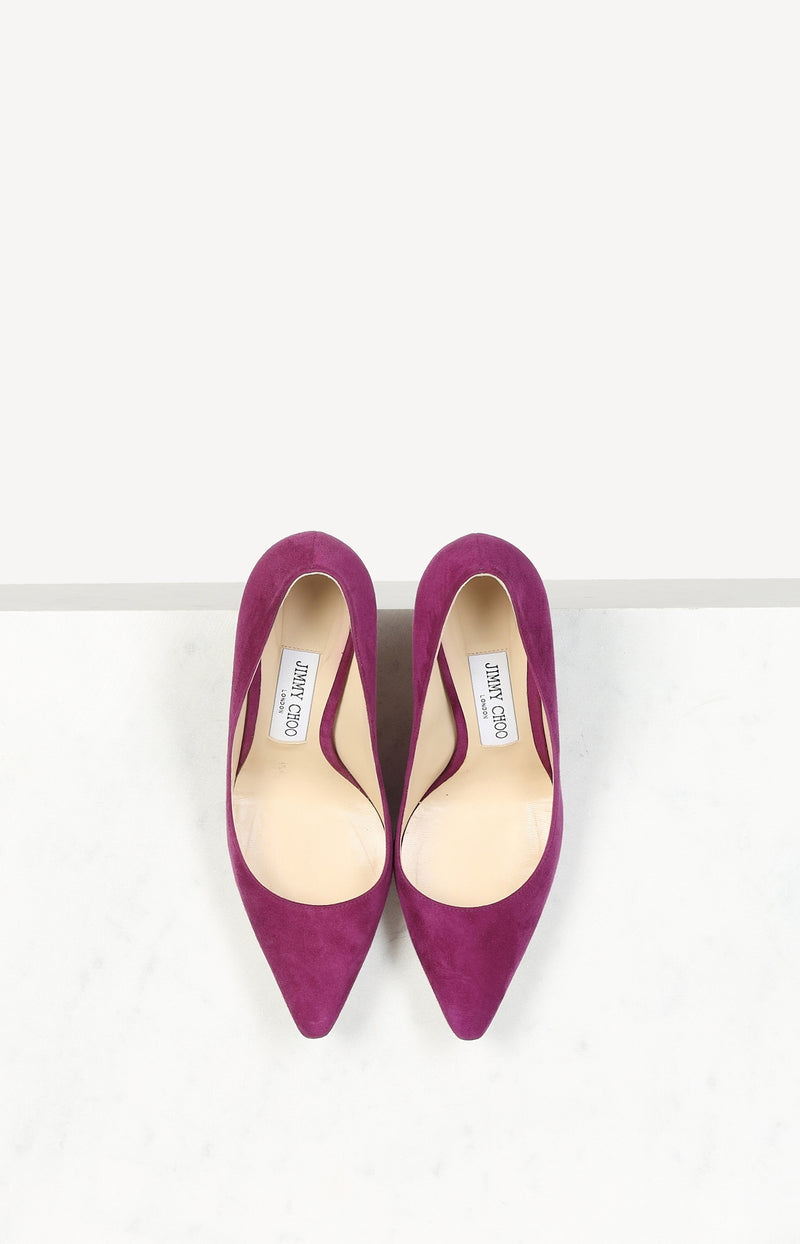 Pumps Romy in Lila/Pink