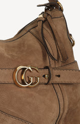 Tasche GG Running Medium in Braun