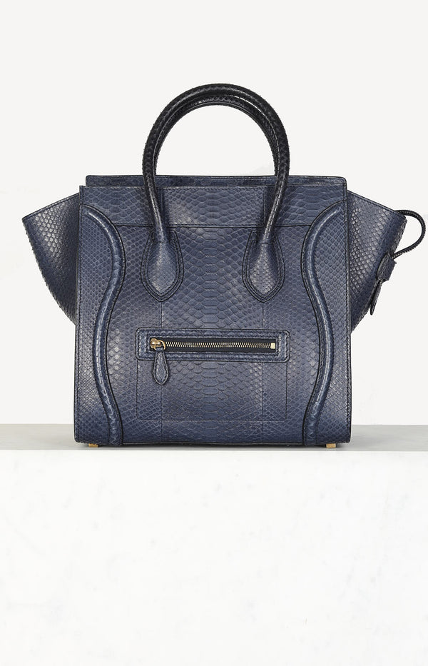 Tasche Luggage Mini in Python Navy