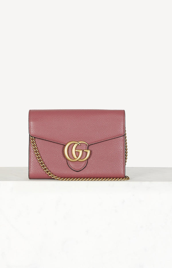 GG Marmont Cellarius bag in red