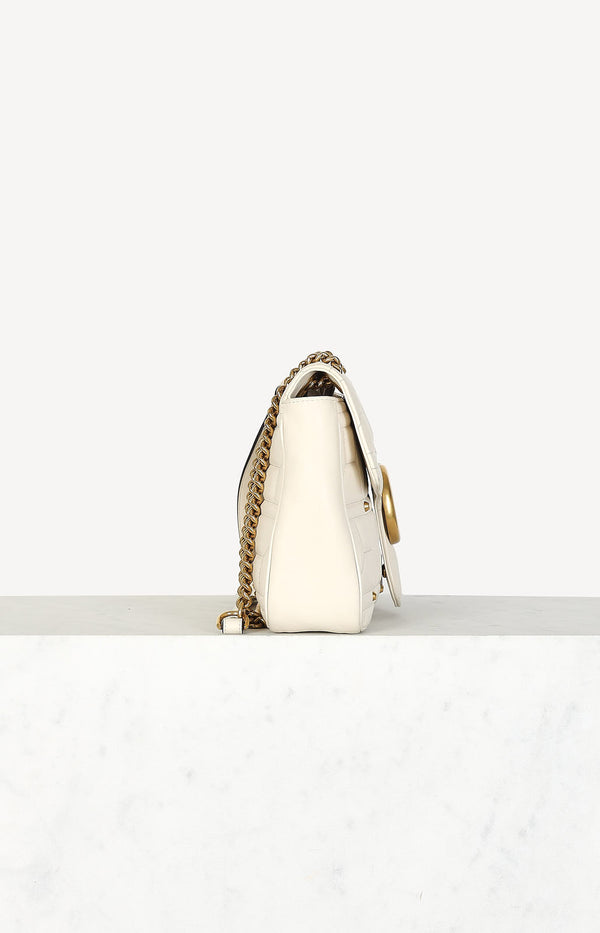 Tasche GG Marmont Medium in Creme