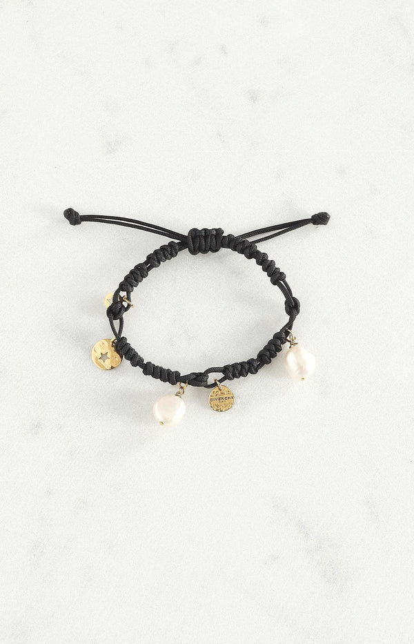 Armband Lucky Pearl in Schwarz