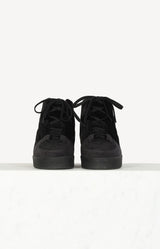 Sneaker Stella in Black Velvet
