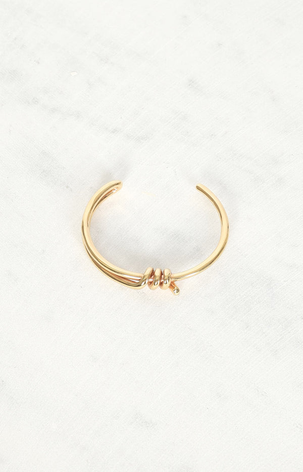 Armband Barbele Knot in Gold