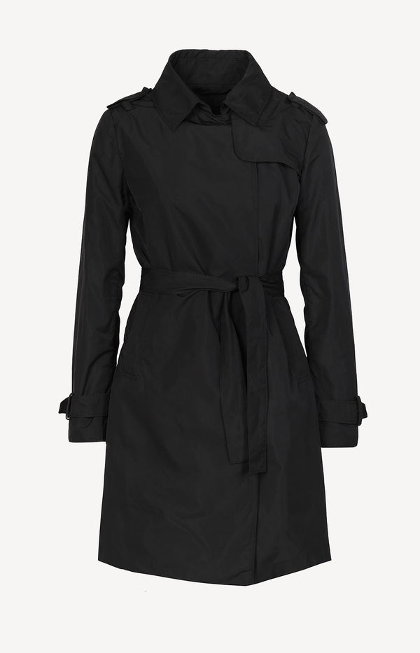 Trenchcoat in Schwarz