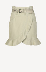 Rock Jupe Roan in Khaki