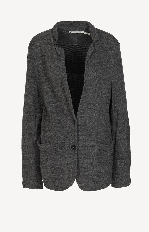 Jersey blazer in gray