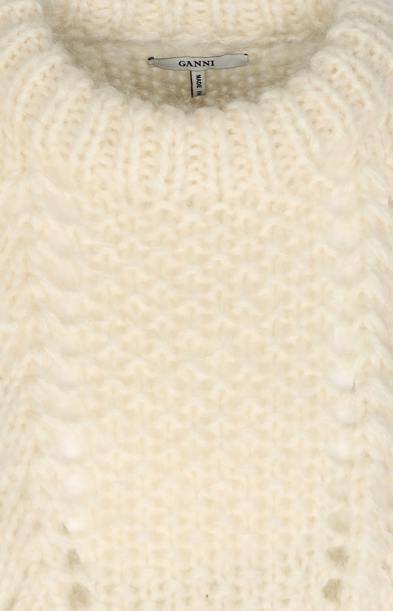 Pullover The Julliard Mohair in Creme