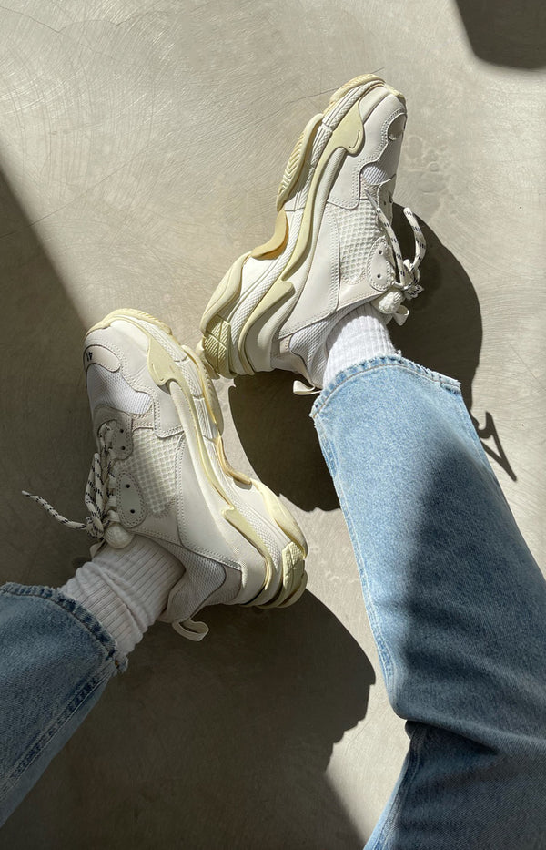 Triple S sneakers in white