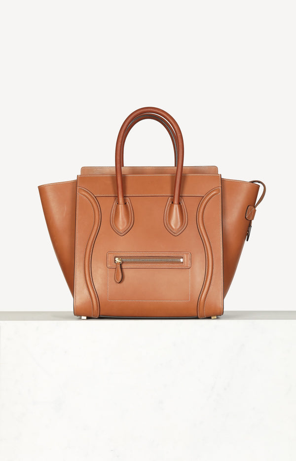 Tasche Luggage in Tan