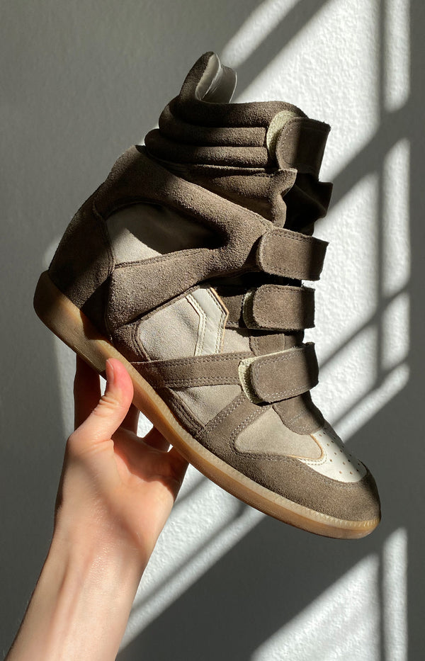 Beckett sneakers in khaki