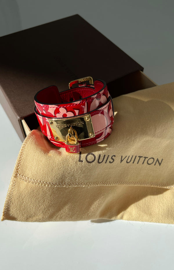 Armband Lockit Vernis in Rot/Rosa/Gold
