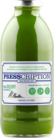 Presscription Cold-Pressed Juices THE CELERY JUICE CLEANSE PACKAGE