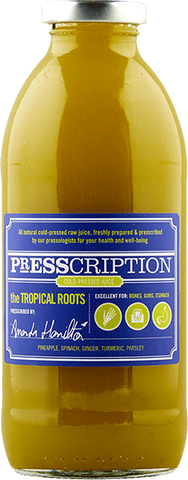 Presscription Cold-Pressed Juices THE TROPICAL ROOTS
