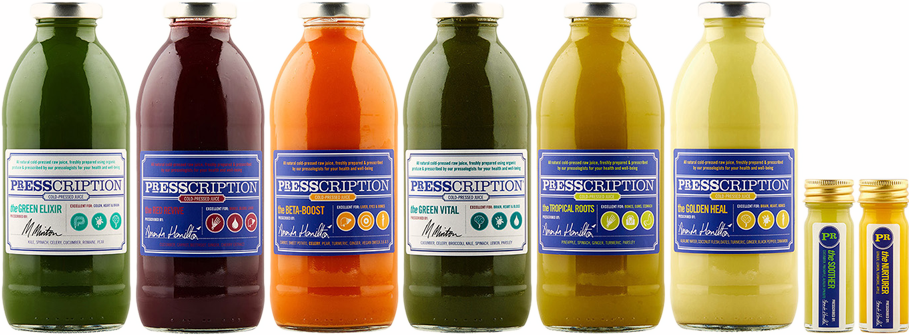 Presscription Juice Juice Cleanses CALMING JUICE CLEANSE