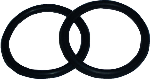 Bitz Horse Rubber Rings For Peacock Safety Stirrups - Pair