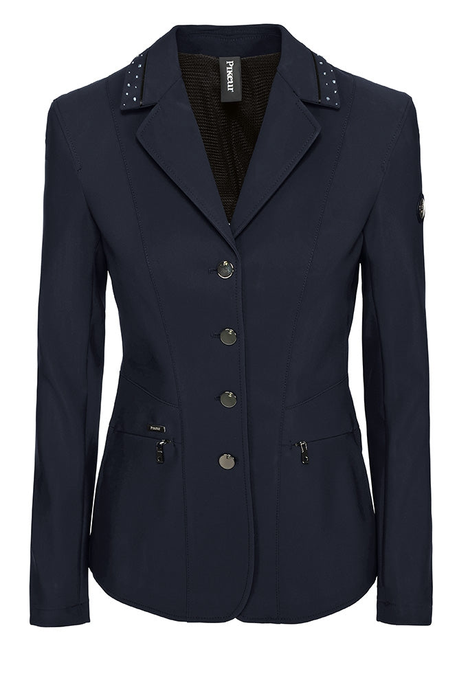 Pikeur Lyra Softshell Ladies Competition Jacket - Night Blue