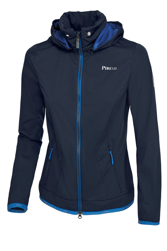 Pikeur SS18 Wakita Lighweight Softshell Jacket - Navy