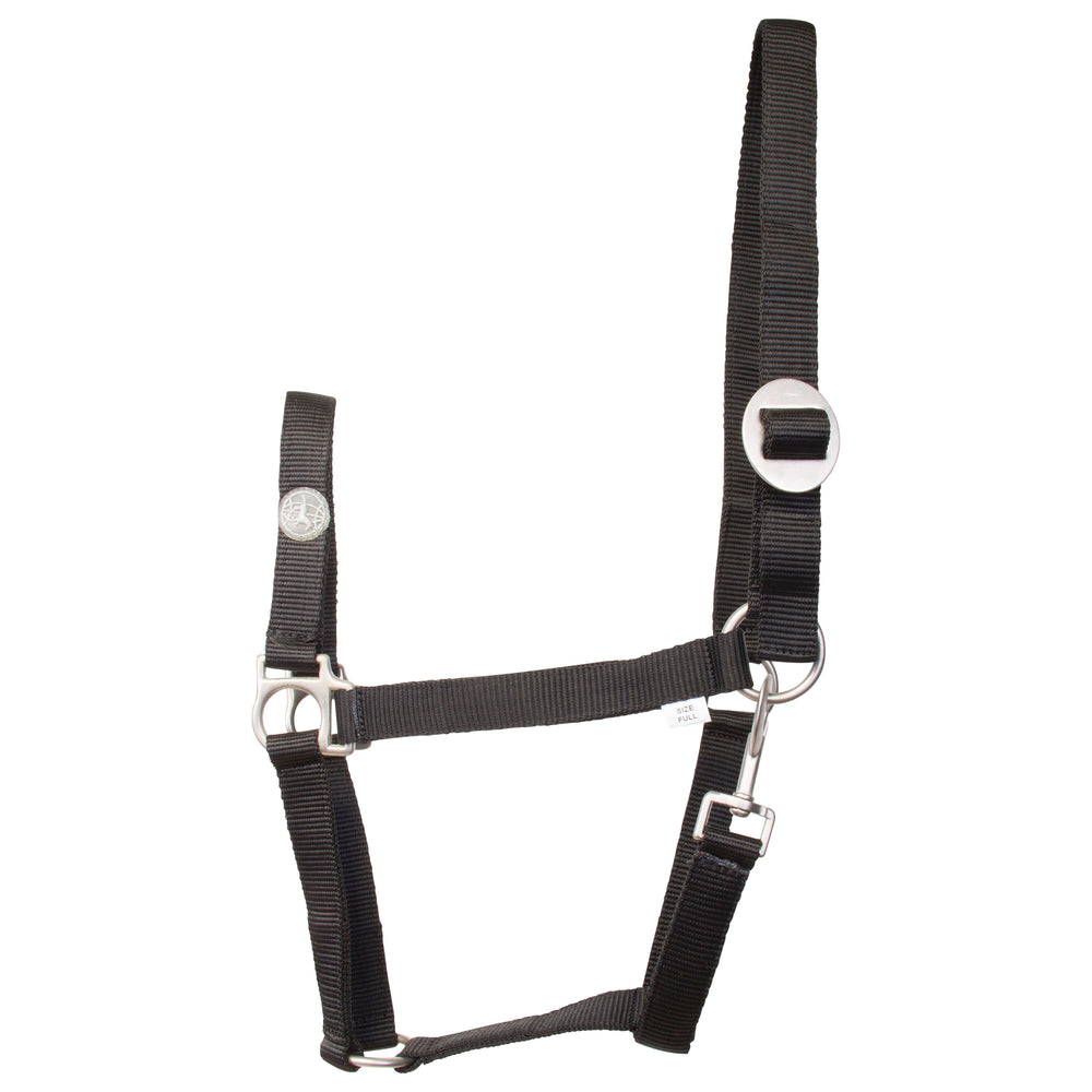Imperial Riding Halter Nylon Economic Black