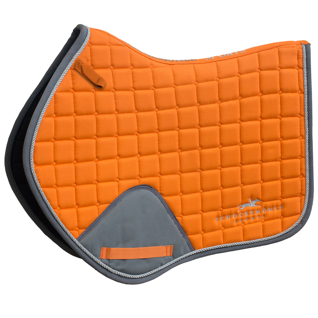 Schockemohle Jumping Power Pad - Orange/Grey