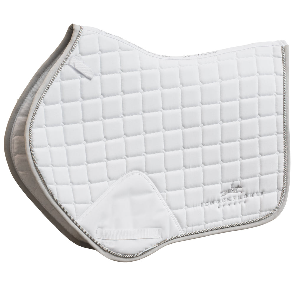 Schockemohle Jumping Power Pad - White/Silver